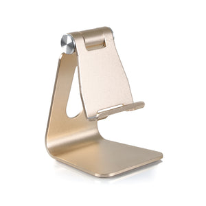 Rotatable Mobile Phone Holder - Gold