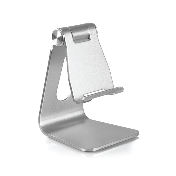 Rotatable Mobile Phone Holder - Silver