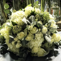 Wonderfully White Hand-Tied Bouquet