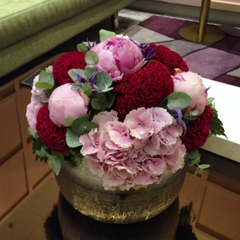 Pink & Red Hand-Tied Bouquet