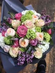 1.05 Spring mixed rose bouquet