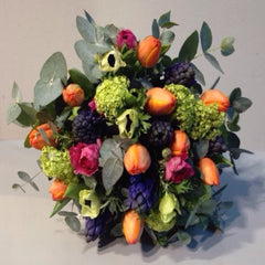 Bright & Colourful Hand-Tied Bouquet