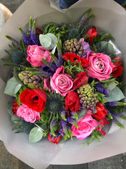 142.07 Valentie's Collection Bouquet (red/pink/white)