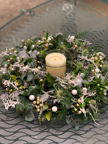 Table Centre with Candle