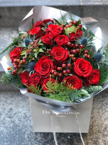 2512.2 Winter Red Christmas Bouquet