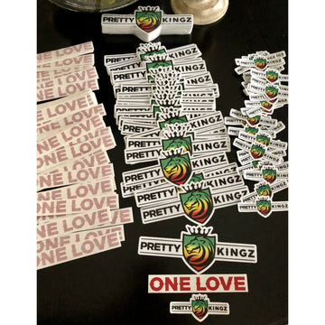 Pride 3 Piece Decal Set