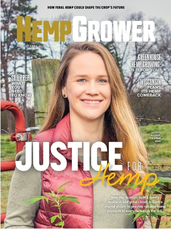 How the Justice Family Transitioned Into Hemp