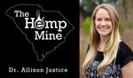 Dr. Allison Justice talks hemp with Dr. Zachary Cartwright of Water in Food