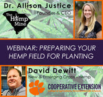 Are you ready for hemp planting season? Dr. Allison Justice talks with Clemson Extension's David Dewitt