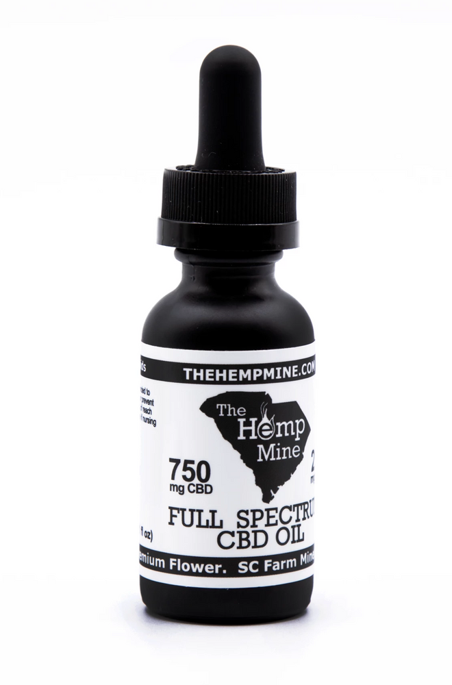 Full Spectrum Hemp CBD Oil 750mg