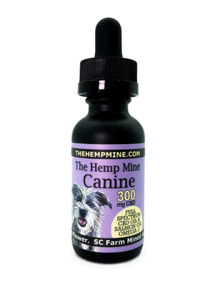 The Hemp Mine Canine Dog Pet CBD oil