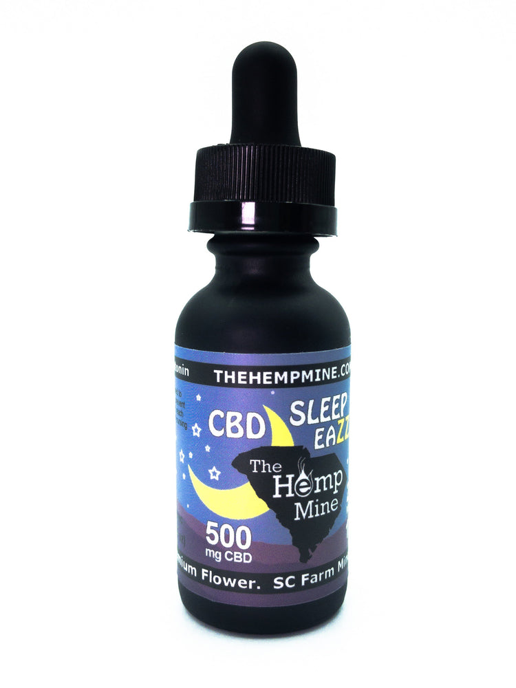 CBD Sleep Eazzzy 500mg Full Spectrum Oil with Melatonin