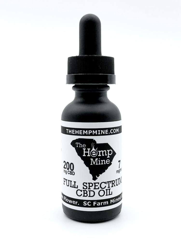 Full Spectrum Hemp CBD Oil 200mg