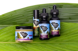 The Hemp Mine products hemp extract oil
