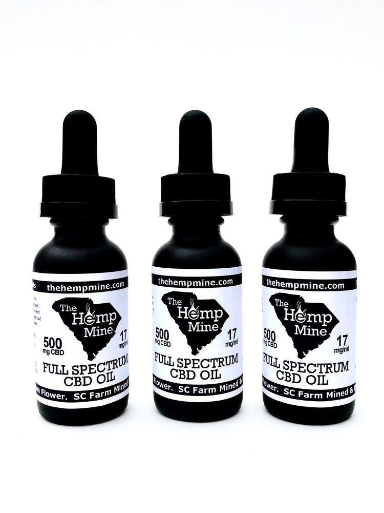 Full Spectrum Hemp CBD Oil 500mg
