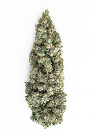 CBG hemp dried bud Janet's G white frost