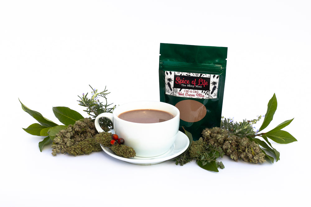 Spice of Life Hot Cocoa cbd cbg mix hemp