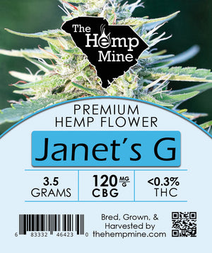 CBG Premium Hemp Flower 7 grams Bag