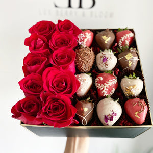 Couture Roses and Berries Box