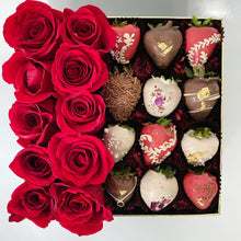 Load image into Gallery viewer, Couture Roses and Berries Box