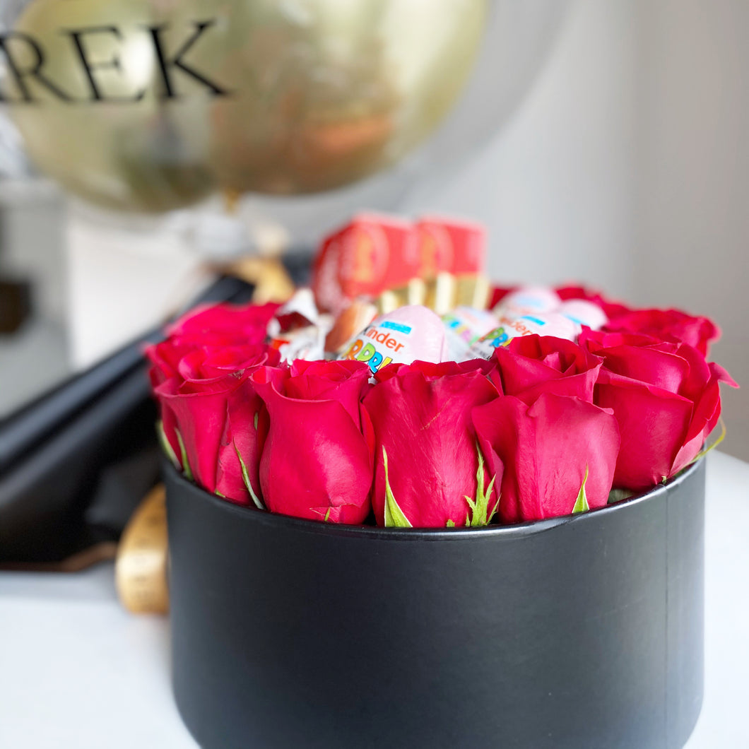 Roses and Chocolates Ring Box