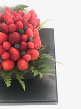 Load image into Gallery viewer, Berry Arrangement - Square Flower Box