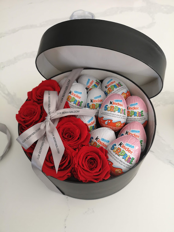 Kinder Love - Round Flower Box