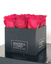 Load image into Gallery viewer, Red Roses Small - Signature Square Gift Box