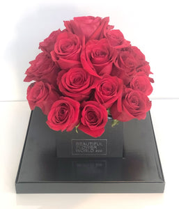 Red Affair Flower Box