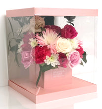 Load image into Gallery viewer, Cotton Candy - Signature Square Flower Box