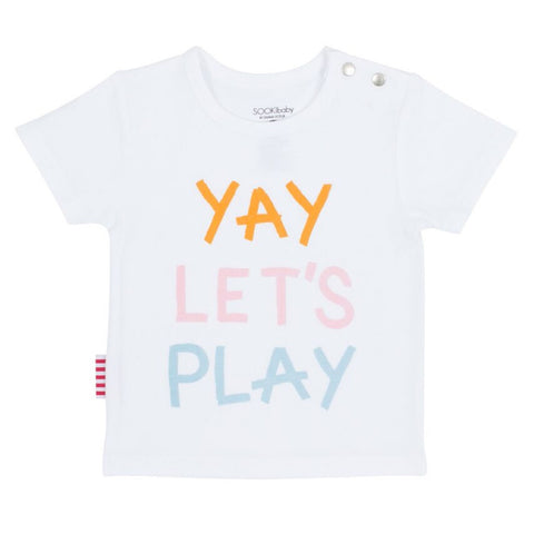 Sookibaby - Side Opening Tee Yay Let's Play