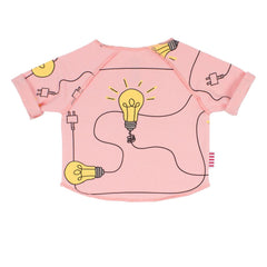 Sookibaby - Relaxed Raglan Sweat Lights On Pink