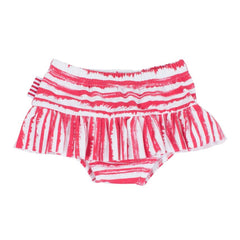 Sookibaby - Skirt Nappy Pants Ra-Ra Pop Pink Striped