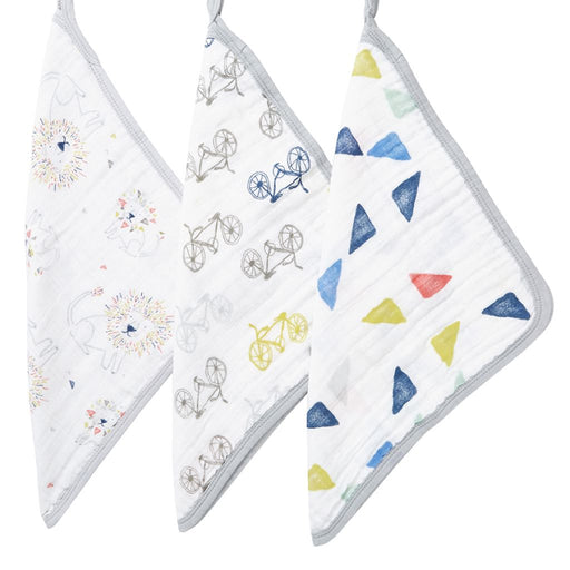 Aden and Anais Washcloth Sets 3-pack Leader pf the Pack