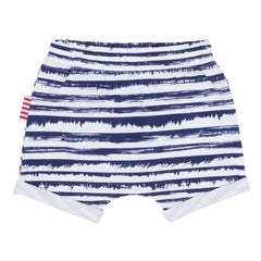 Sookibaby - Summer 16 - Blue Striped Roll Cuff Short