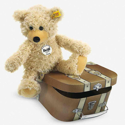 Steiff Charly Teddy Bear with Suitcase
