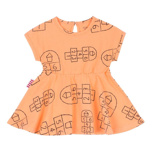 Sookibaby - Dress Drop Sleeve Fit and Flare Hopscotch