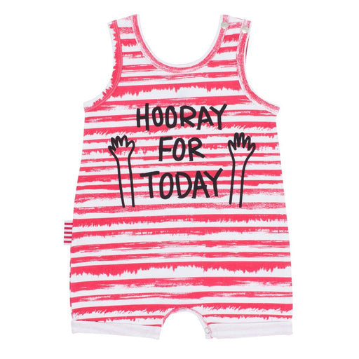 Sookibaby -  Romper All in One Hooray for Today Fun Pink