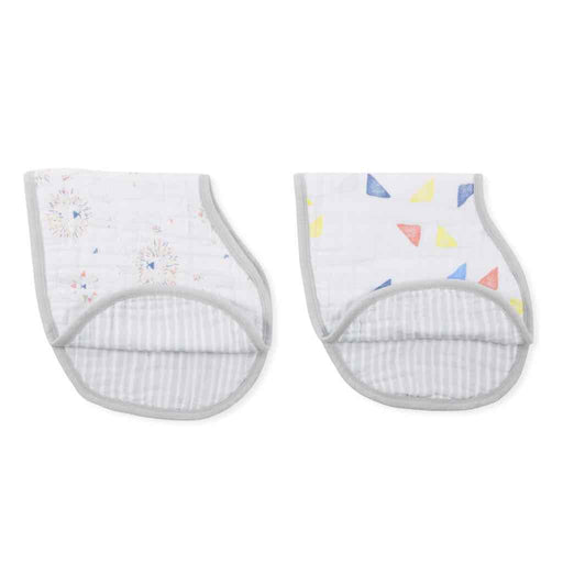 Aden and Anais | Classic Burpy Bibs 2-pack Leader of the Pack