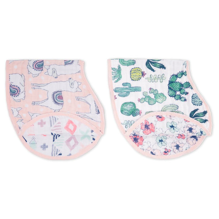 Aden and Anais - Classic Burpy Bibs 2-pack Trail Blooms