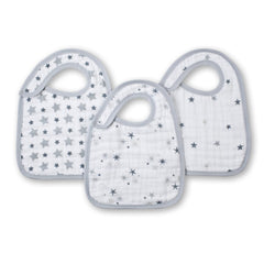 Aden and Anais | Classic Snap Bibs 3-pack Twinkle