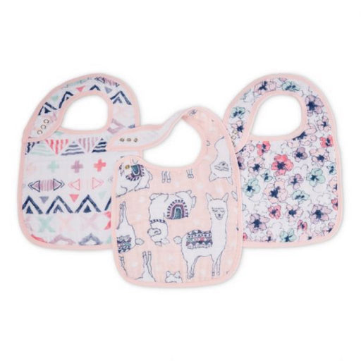 Aden and Anais - Classic Snap Bibs 3-pack Trail Blooms