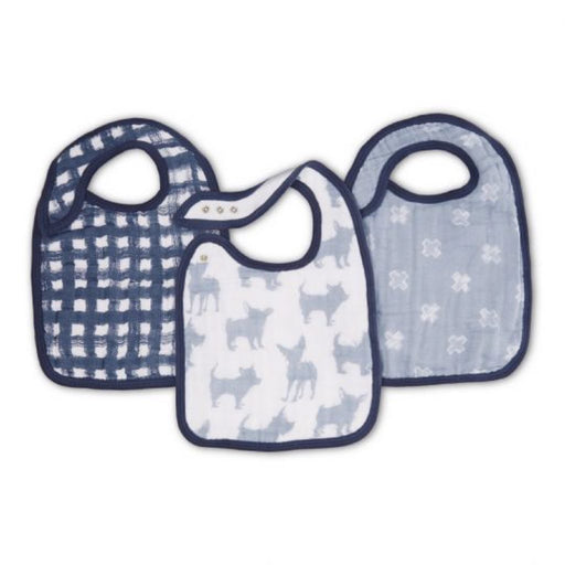 Aden and Anais - Classic Snap Bibs 3-pack Waverly