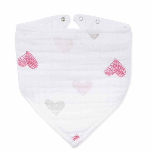 Aden and Anais | Classic Bandana Bib Love Bird - Sketchy Heart