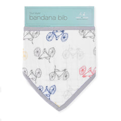 Aden and Anais | Classic Bandana Bib Leader of the Pack - Cycles