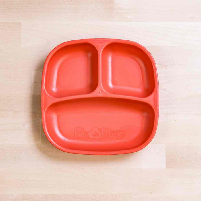 Re-Play Toddler Divided Plate