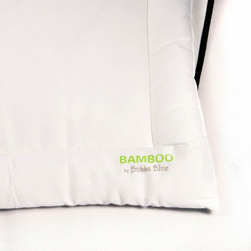 Bubba Blue - Bamboo Cot Pillow with Pillowcase White
