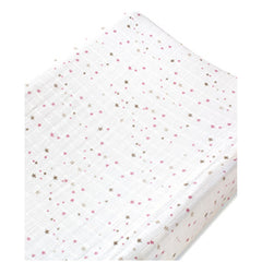 Aden and Anais | Changing Pad Cover Lovely Starburst