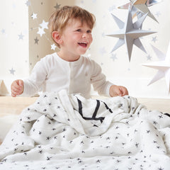 Aden and Anais | Bamboo Silky Soft Dream Blanket Midnight Etoile