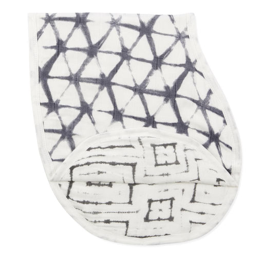 Aden and Anais | Bamboo Silky Soft Burpy Bib Shibori Pebble